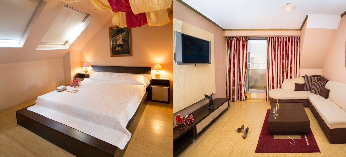 Apartment for two in Hotel Gabi Plovdiv