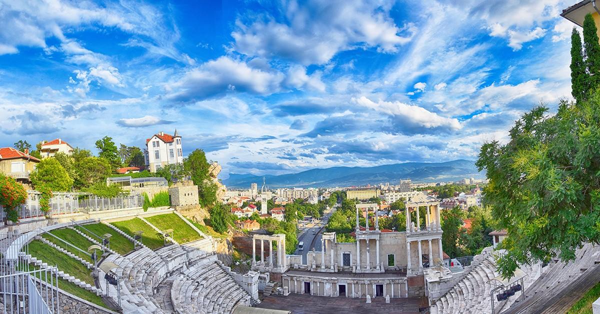 Римски Амфитеатър в Пловдив